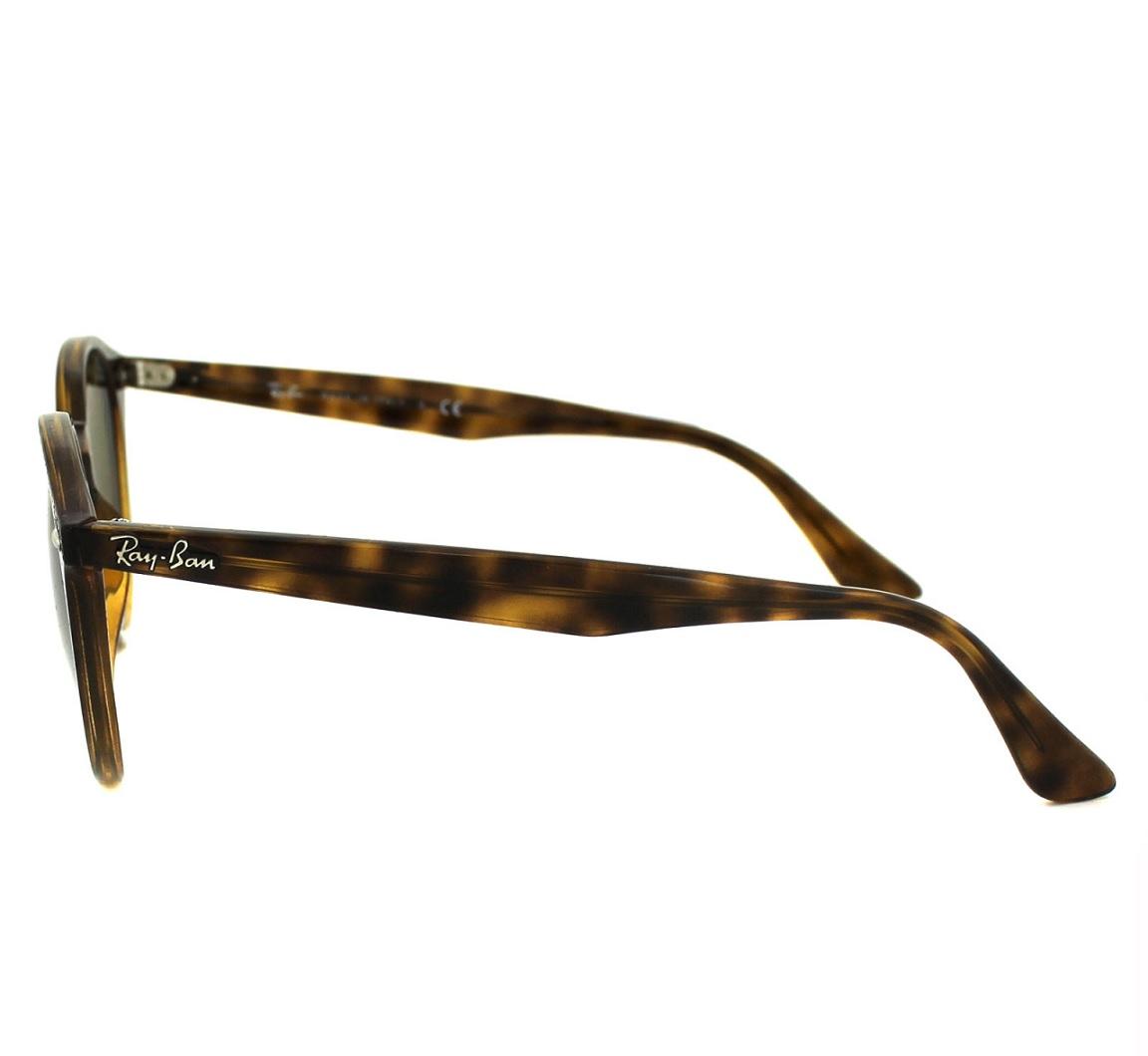 56280853ed855 Ray Ban RB2180 710 73 Round Stylish Óculos de Sol - Óticas Totus