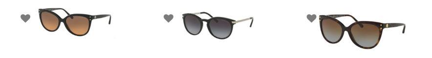 Óculos escuros da grife Michael Kors